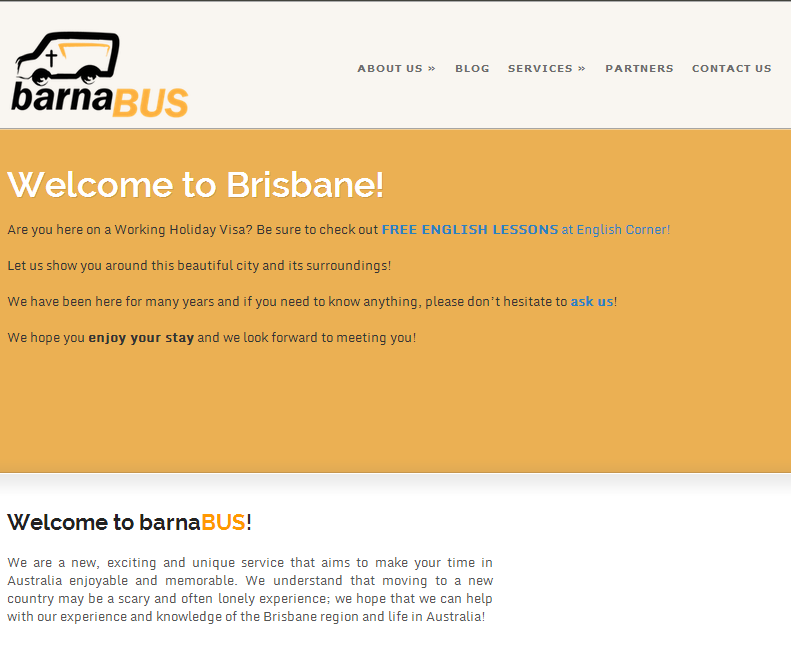 Barnabus - a fun and friendly bus service